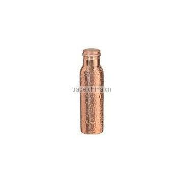 whoelsale copper shiny water botle