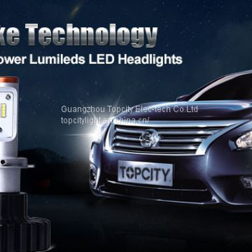 Guangzhou manufacturer direct sale H4-3 HI/LO 120W LED Headlight,headlight car led for auto parts