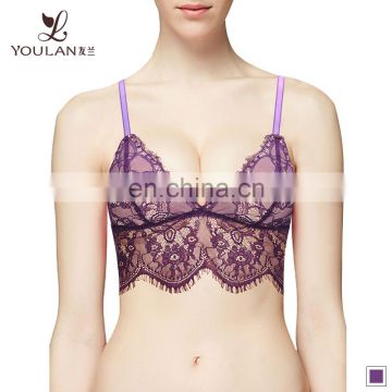 Soft Material Transparent Bra Panty Set Ladies Underwear Bra