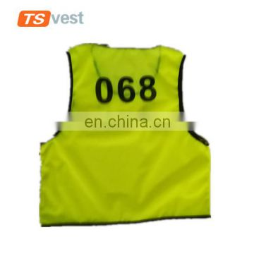 Anti-pilling soft kid football vest for outdoor sports