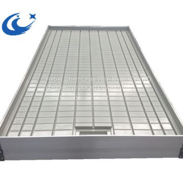 High Sale Greenhouse/Agricultural System Table Ebb And Flow Rolling Benches( with gray/white tray)