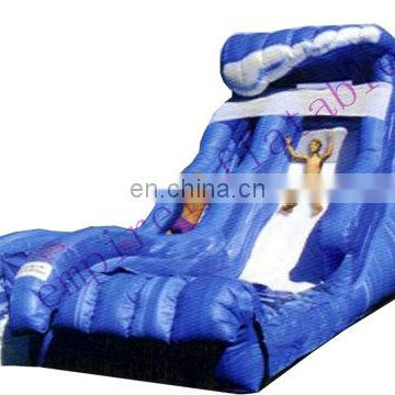 water wave inflatable slide,inflatables, PVC water slide WS005