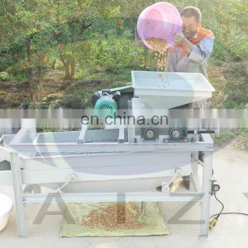 Taizy Customized Big Capacity Almond Cracking and Peeling /Shelling Line
