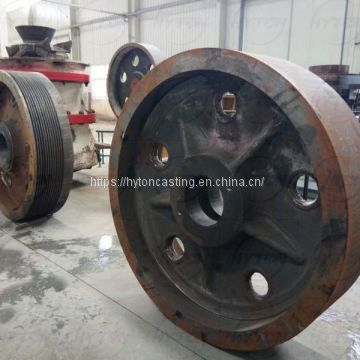 flywheel suit metso nordberg C125 c140 jaw crusher spares