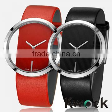 Fashion new hot Pair of Steel Analog Hallow Quartz Couple lover Wrist Watches