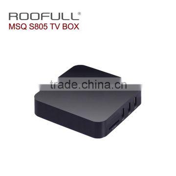 Amlogic S805 MSQ firmware Android 5 1 tv box Google Android 4 4 OS MSQ  Amlogic S805 ott tv box