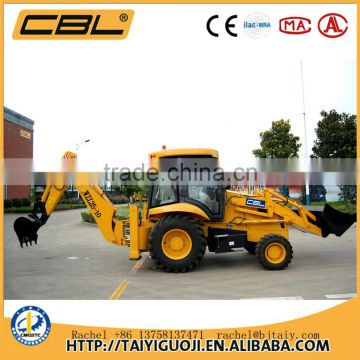 WZL25-10C cheap articulated mini wheel loader with backhoe