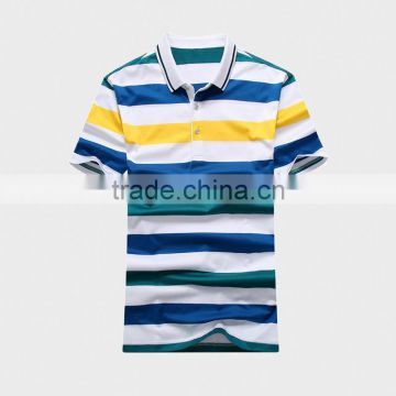 Hight Quality Men's Polo Shirt with Ribbon