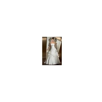 Bridal Dress, Party Wear, Bridemaid Gown with Good Fabrics (7422)