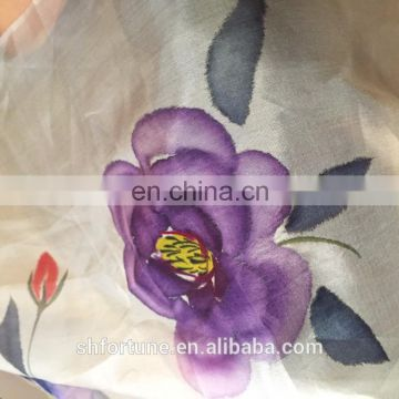 100% nature Silk lady scarf
