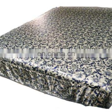 printed fabric--Charmeuse Silk bed sheet
