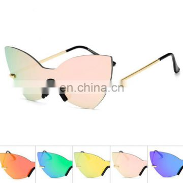 Anti-sun Colorful Sunglasses Summer Women Fashion Cool