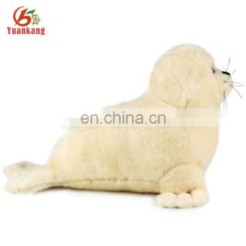 ICTI factory 30cm stuffed sea animal plush seal toy