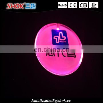 Shinning Button Badge For Party, Led Blinking Badge