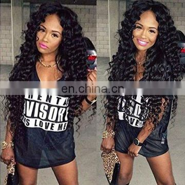 Deep Curl High Quality Real Mink Brazilian Hair wholesale human hair brazilian hair weave fast shipping