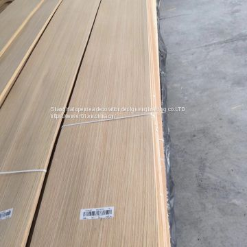 Natural North America white oak  wood veneer with grade of panel AA