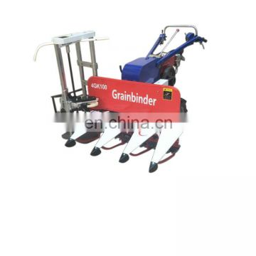 paddy rice harvest machine with small diesel engines / rice cutting machine