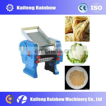 Double knife stainless steel electric noodle cutter machine for food