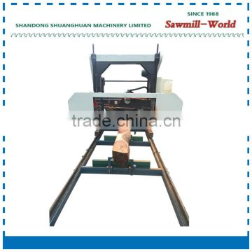 Mini wood cutting machine band saw sawmill 2017 hot sale
