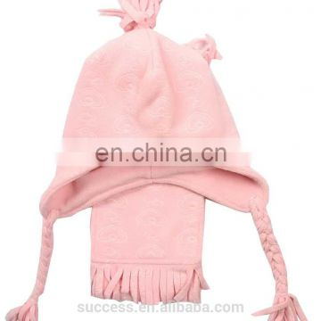 Fleece Hat&scarf for girl