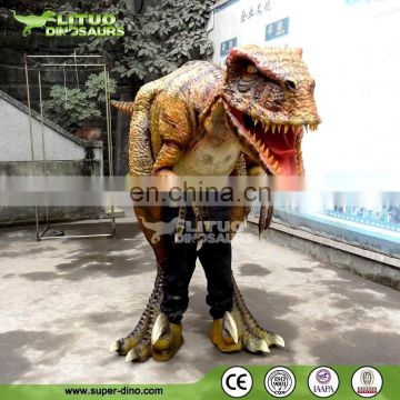 Animatronic Raptor Suits