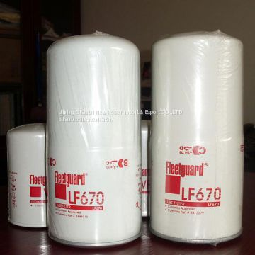 High quality cummins kta19 oil filter LF670 made in China for sale