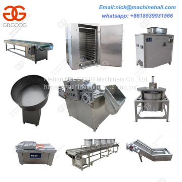 Drying Type Peanut Frying Machine Line|Drying Peanut Fryer Production Line Supplier|Fried Groundnut Making Machine