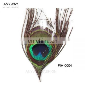 Cheap Sale Artificial Peacock Feathers With Big Eye