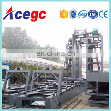 Bucket chain wheel sand/gold mining dredge for sale