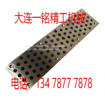 Custom brass bronze high-strength brass graphite wear block mold graphite wear plate self-lubricating copper plate
