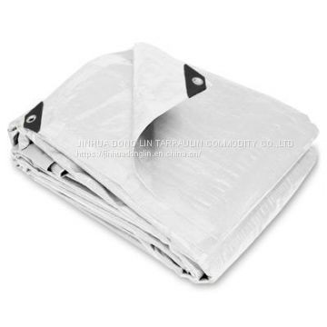 Double Sided White Tarpaulin White Tarpaulin Eco-friendly