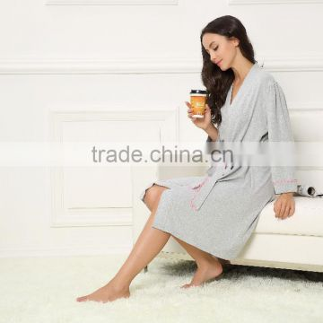 Chinese best brand muslim women sexy nightgown and robe sets                                                                         Quality Choice