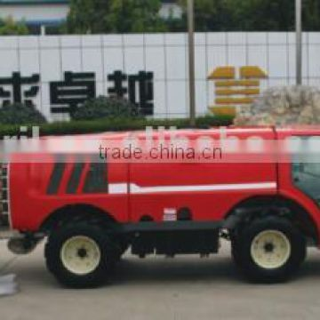 top quality self propelled diesel 60Hp garden orchard boom air blast sprayer vehicle 1000L tank with cabin and air conditioner