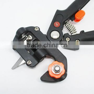 Garden Fruit Tree Professional Prune Shear Snip Grafting Cutting Tool with 2 Extra Blades and Grafting Tape
