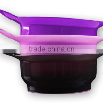 Factory Price Hair Salon Coloring Bowl, Hair Tint Brush and Bowl
