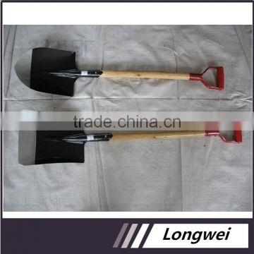 Digging Tools And Names Steel Shovel 503 With Wooden Handle Of