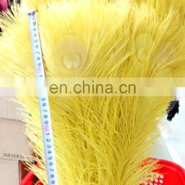 Natural color wholesale 70-80cm peacock feather