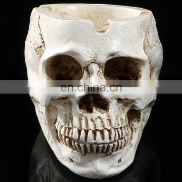 New arrival Polyresin pirate skull funny ashtray