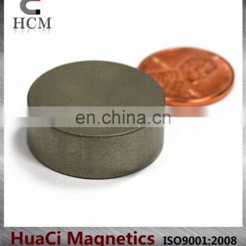 "SmCo Magnets Dia 1""X3/8"" Samarium Cobalt Magnets 572F Temperature"