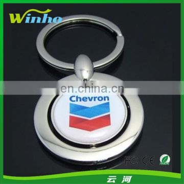 Custom Rotating Key Tag with Business Logo