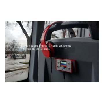 2018 bus GPS  multilingual and commentary system from shenzhen tamo