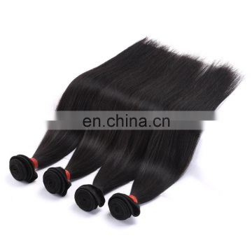 Man made Brazilian virgin remy hair sew in human hair extensions blonde