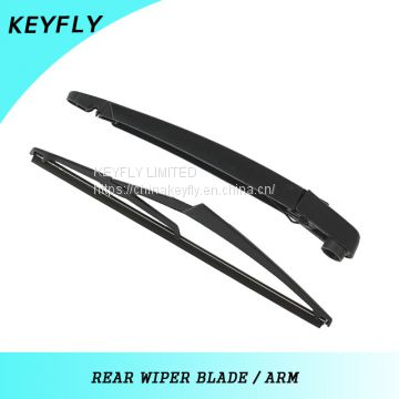 ALFA ROMEO MITO 2008 Car Windshield Wiper Blades , Teflon Coating Rubber Wiper Blade Arm,Black,High Level