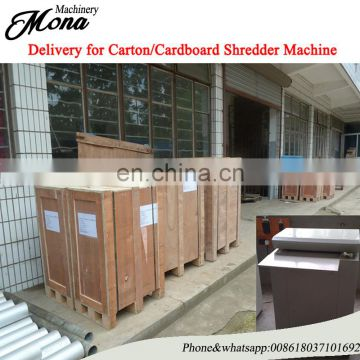 Carton package shredder machine cardboard shredder/corrugated board shredder