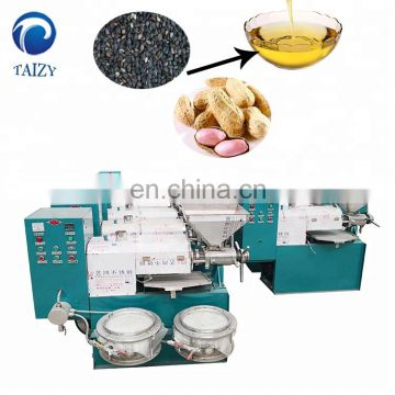 sesame oil presser peanut cotton seeds corn soybean oil extraction machine