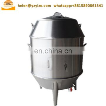 Beer can chicken duck roaster , chinese roast duck oven equipment