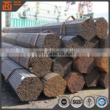 MS hollow section round pipe, erw steel pipe sizes 20mm