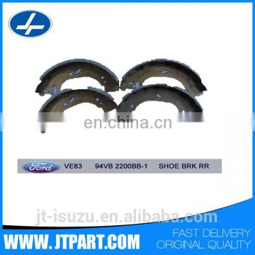 Genuine part auto Rear Brake Shoes 94VB 2200BB for Transit VE83