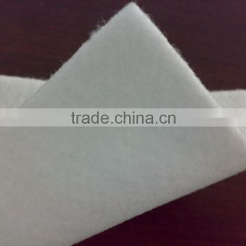 PET short fiber nonwoven geotextile fabric for road,recycled pet non
