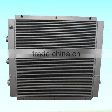 air cooled chiller radiator screw air compressor air cooler China supplier oil cooler coolant